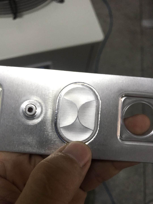 铝片焊接样品