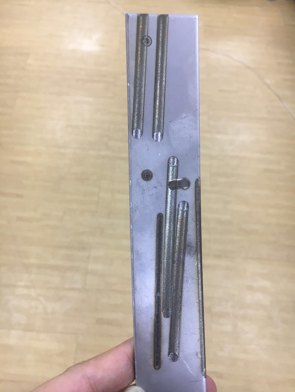 激光摆动焊接焊缝效果图