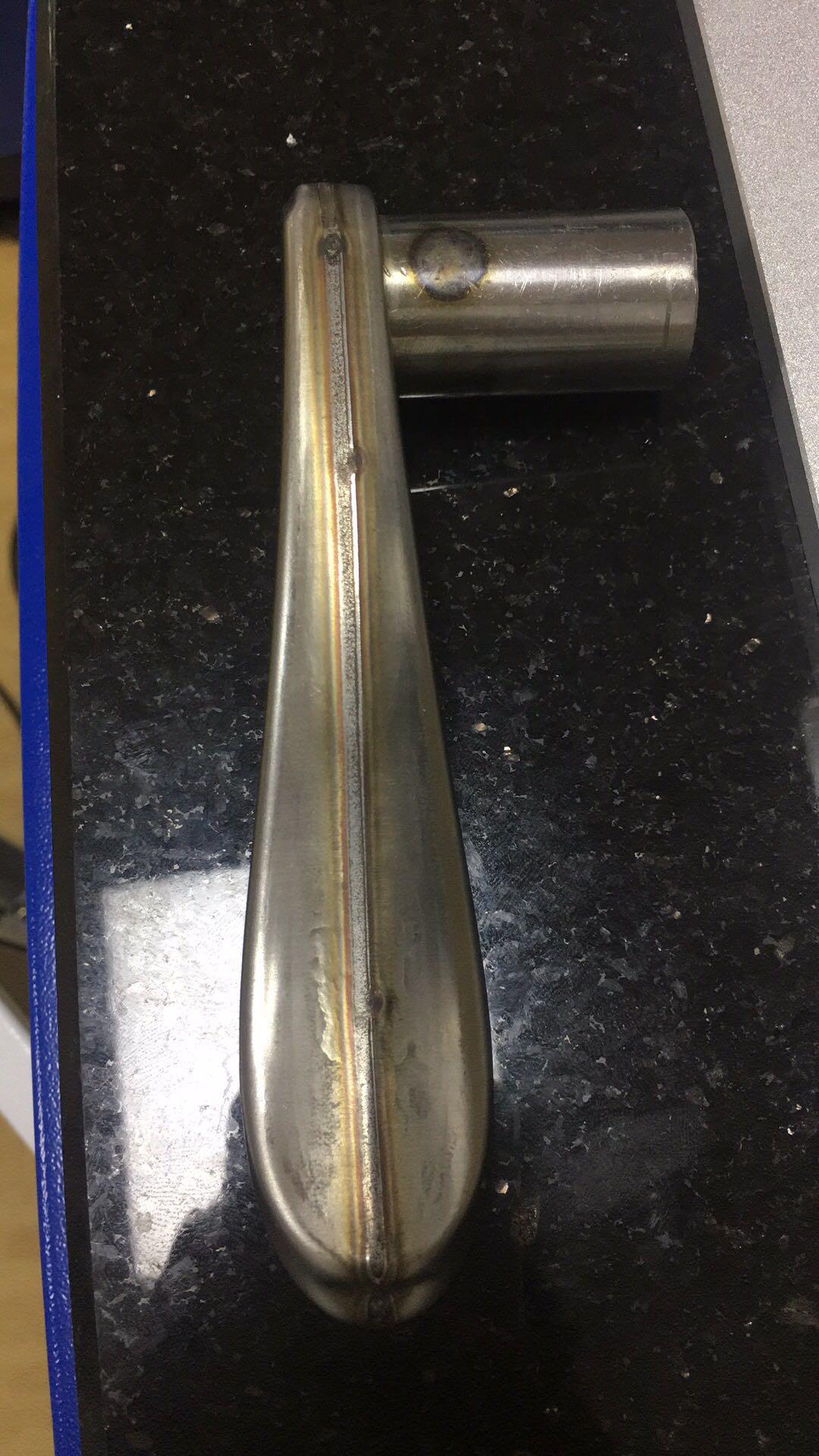 不锈钢门把手焊接样品