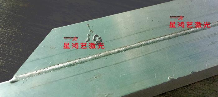 铝型材焊接样品
